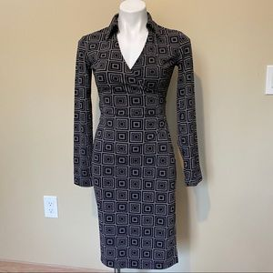 Express dress with print